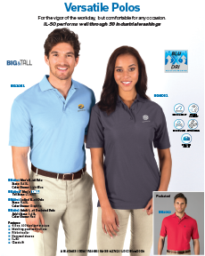 Snag Resistant Polos
