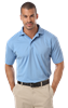 MEN'S IL-50 POLO NO POCKET  -  LIGHT BLUE EXTRA LARGE SOLID