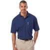 ADULT IL-50 POCKETED POLO  -  NAVY EXTRA LARGE SOLID