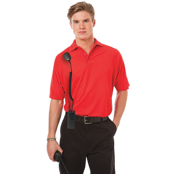 ADULT TACTICAL SHIRT  -  RED SMALL SOLID