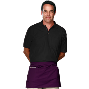WAIST APRON TEFLON  -  PURPLE ONE SIZE WAIST SOLID