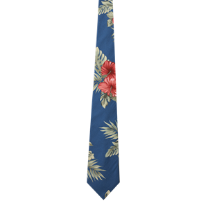 TROPICAL TIES CO#  -  FLORAL PRINT ONE SIZE TIE PRINT