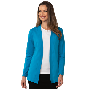 LADIES FLY AWAY COVER UP TURQUOISE EXTRA SMALL SOLID