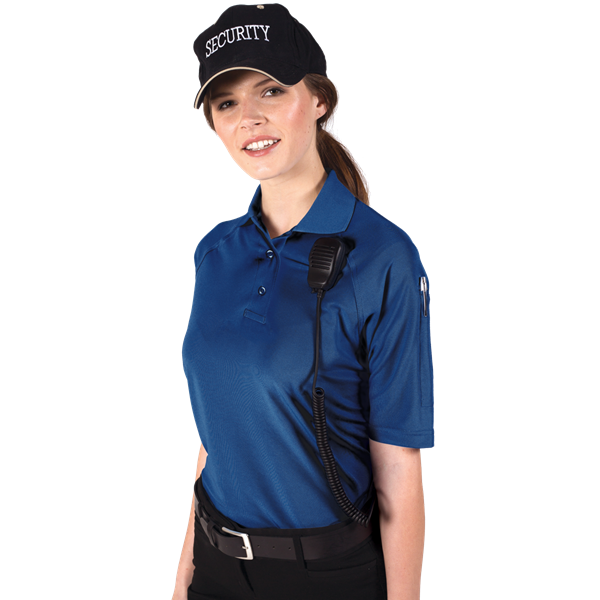 LADIES IL-50 TACTICAL POLO  -  ROYAL EXTRA LARGE SOLID