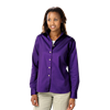 LADIES LONG SLEEVE 100% COTTON TWILL  -  GRAPE EXTRA LARGE SOLID