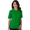 LADIES S/S VALUE PIQUE POLO  -  KELLY EXTRA SMALL SOLID