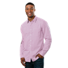 MEN'S L/S UNTUCKED GINGHAM ROSE EXTRA LARGE SOLID