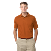 MEN'S VALUE MOISTURE WICKING S/S POLO  -  BURNT ORANGE EXTRA LARGE SOLID