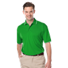 MENS WICKING PIPED POLO  -  KELLY EXTRA LARGE SOLID