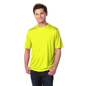 ADULT SOLID WICKING T   -  OPTIC YELLOW EXTRA EXTRA SMALL SOLID