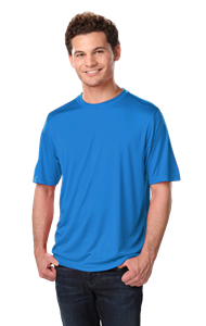 ADULT SOLID WICKING T  -  TURQUOISE EXTRA EXTRA SMALL SOLID