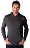 ADULT TRIBLEND PULLOVER HOODIE  -  BLACK EXTRA SMALL SOLID
