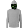 St. Patrick's Adult Triblend Pullover Hoodie LIGHT GREY EXTRA SMALL SOLID