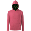 CANNABIS PULLOVER TRIBLEND RED EXTRA SMALL SOLID