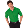 MENS S/S VALUE PIQUE POLO  -  KELLY EXTRA SMALL SOLID