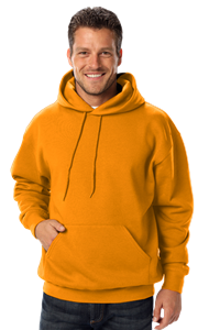 ADULT FLEECE PULLOVER HOODIE  -  GOLD EXTRA SMALL SOLID