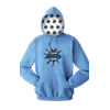 YOUR LOGO HERE FLEECE PULLOVER HOODIE CAROLINA BLUE EXTRA SMALL SOLID