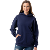 ADULT FLEECE PULL OVER HOODIE NAVY EXTRA SMALL SOLID